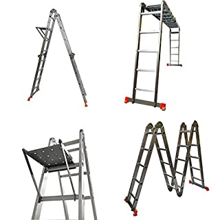 EASTWHARF(TM) 5.95M 4X5 Multi Purpose Multi Function Aluminium Ladder + FREE Two Plates and One Tray (B00913IL80) | Amazon price tracker / tracking, Amazon price history charts, Amazon price watches, Amazon price drop alerts