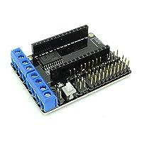 Questo l293d Motor Driver module è ideale per guidare un motore tramite connessione wireless a distanza. È stato progettato con una presa per il collegamento WiFi ESP8266piatti.Questo modulo include una presa per il collegamento WiFi ESP8266piatti....