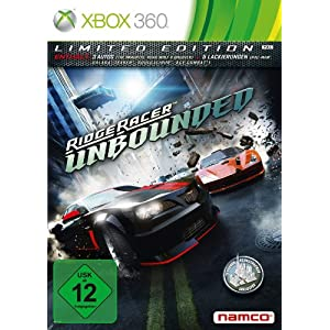 Ridge Racer Unbounded – Limited Edition – [Xbox 360]
