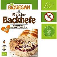 Levadura orgánica extra fuerte Levadura 'Master Yeast' 7g Biovegan | Nueva fórmula libre de gluten de levadura de Baker - Levadura de hornada Master Bio Maximum Power