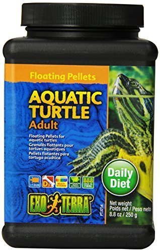 Exo Terra Adult Aquatic Turtle Food, 8.8-ounce by Exo Terra (Haustiere Turtle Aquatic)