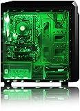 VIBOX-Killstreak-LA4-131-Komplett-PC-Paket-Gaming-PC-42GHz-AMD-A6-Dual-Core-CPU-Desktop-Gamer-Computer-mit-Spielgutschein-22-Monitor-Gamer-Tastatur-Mouse-Grn-Innenbeleuchtung-lebenslange-Garantie-40GH