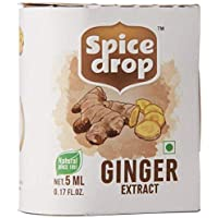 SPICE DROP Ginger Natural Extract , 5ml, For Food
