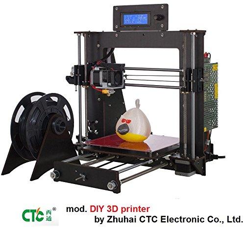 STAMPANTE 3D PRUSA CTC DIY - KIT DA MONTARE - CD ISTRUZIONI NELLA CONFEZIONE