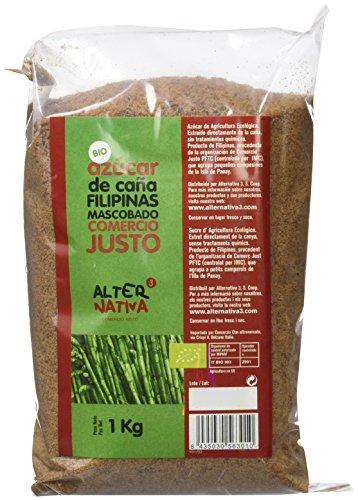 AlterNativa3 Azúcar de Caña Mascabado Bio - 1000 gr - [pack de 5]