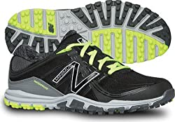 New Balance Womens nbgw1005 Golf Shoe, Black/Lime, 11 B US