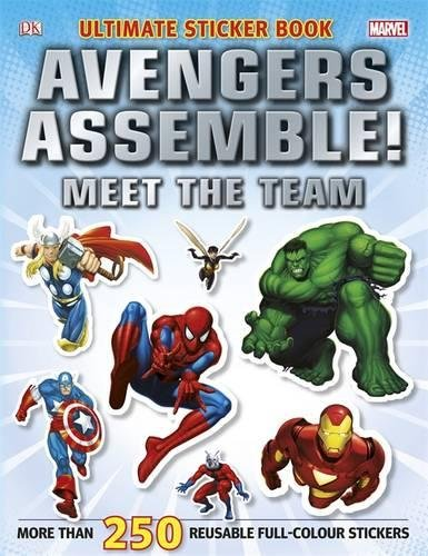 Marvel Avengers Assemble! Ultimate Sticker Book Me (Ultimate Stickers) por Vv.Aa.