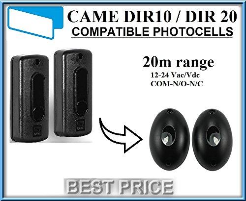 CAME DIR 10/CAME DIR 20Lichtschranken Infrarot kompatibel, 12-24V n.c-com-n.o Photocells Liftmaster Security Gate