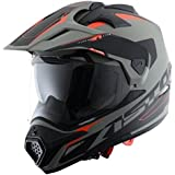 Astone Helmets  ADVGBM  Casque Tourer Adventure, Gris/Noir, M