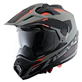 Astone Helmets Casque Tourer Adventure, Gris/Noir, M