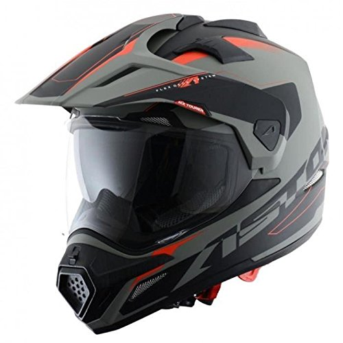 Astone Helmets Tourer Adventure, color Gris, talla L