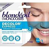 Blondepil Les Monodoses Decolor'Express Gel Décolorant pour Visage 2 X 4 ml - Lot de 5
