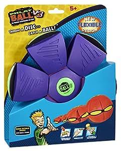 Phlat Ball V3 – Ballon Frisbee Flexible – 10 cm – Modèle Aléatoire