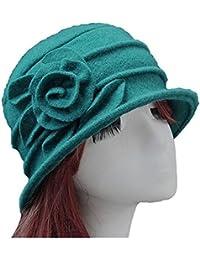 Amazon.es  Verde - Bombines   Sombreros y gorras  Ropa c572c1585b6