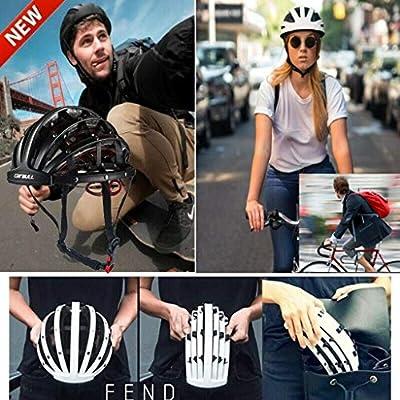 Sisit Men adn Women City Skateboarder Skating Bike Climbing Sport Foldable Basic Urban Cycle Cycling Helmet 56-62 cm adjustable 30 Vents from Sisit