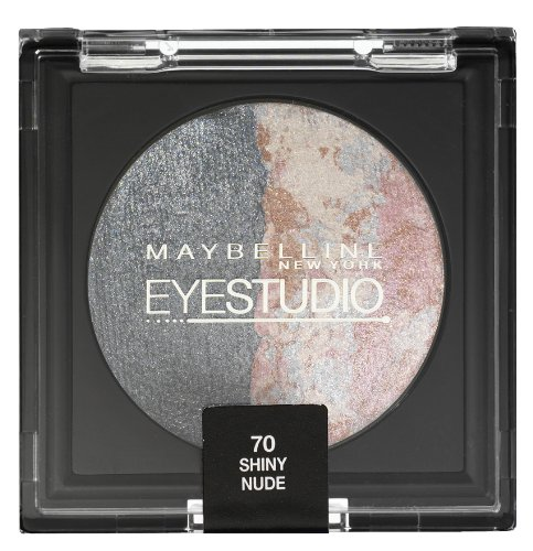 Maybelline EyeStudio Cosmos Baked Duo Eyeshadow - 70 Shiny Nude