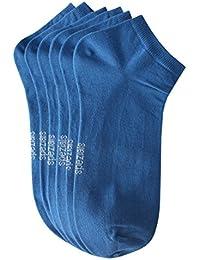 Weri Spezials Hommes Sneakers Chaussettes x3 Bleu Fonce