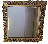 #3: Galerie D'art Decorative Mirror Square 23 inch x 23 inch- Gold