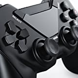 CSL - Wireless Gamepad für die Playstation 3 / PS3 | Controller mit Dual Vibration | Plug & Play | schwarz