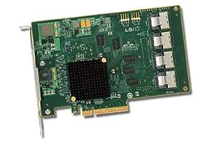 Avago 16-Port Int, 6Gb/s SATA + SAS, PCIe 2.0, SGL, LSI00244 (+ SAS, PCIe 2.0, SGL)