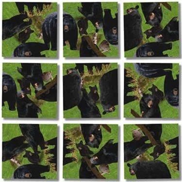 Scramble Squares Puzzle Black Bears by B.Dazzle