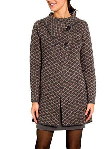 SMASH -  Cappotto  - Donna grigio Medium
