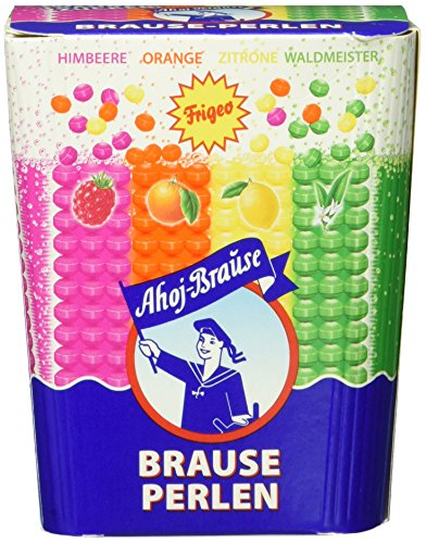 Frigeo Ahoj-Brause Brause-Perlen Box, 6-er Pack (6 x 125 g)