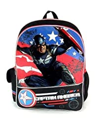 Captain America - 16 Backackpack - Great Bravery