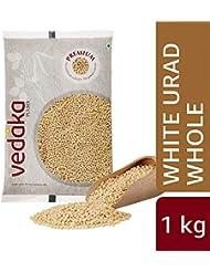 Vedaka Premium White Urad Whole, 1kg