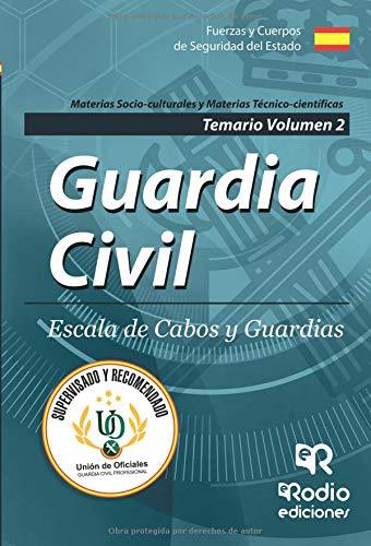 Guardia Civil. Escala de Cabos y Guardias. Temario Volumen 2. Quinta Edición