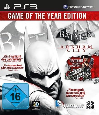 Batman: Arkham City - Game of the Year Edition - [PlayStation 3] (Mario Bros Ps3)