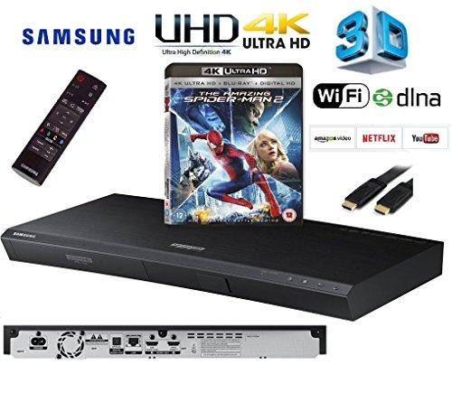 SAMSUNG UBD-K8500/XU Smart 4k Ultra HD 3D WIFI Blu-ray / DVD / CD Player Inc Title