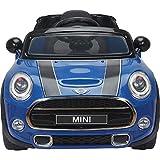 MINICARS Elektroauto für Kinder Mini Cooper S 110 cm Blau