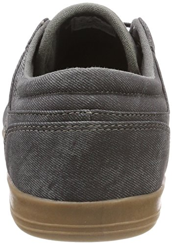 British Knights Herren KUNZO Sneaker Grau (Dk Grey/Crepe)