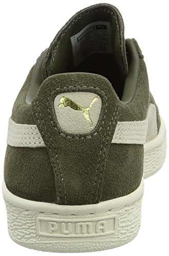Puma Unisex-Erwachsene Suede Classic + Low-Top Grün (Olive Night-Birch)