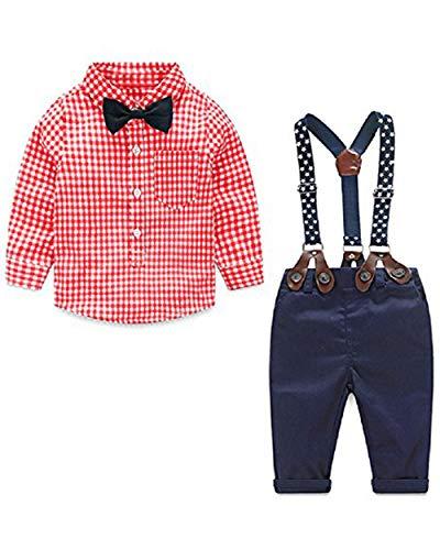 Yilaku Niño Juego Ropa Camisas Pantalones Conjunto