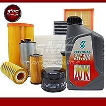 Kit de mantenimiento - 3 filtros originales + 4 litros de aceite para motor Selenia 20