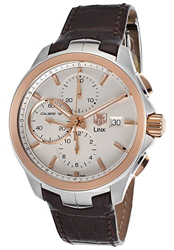 TAG HEUER LINK  HOMME 43MM CHRONOGRAPHE DATE SAPHIR VERRE MONTRE CAT2050.FC6322