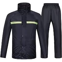 ZBXK Tuta Impermeabile per Uomo Donna Giacca Antipioggia Pantaloni Set, 100% Impermeabile, Traspirante, Impermeabile ad…