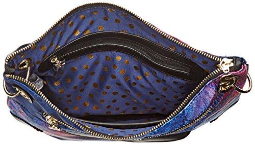 Desigual Bols_brooklyn Carlin. 5000. U - Donna, Blu (Navy), 1x27.80x31.6 cm (b x h t)