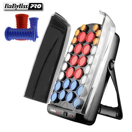 BaByliss Pro Heated Ceramic 30 Piece Roller Set - 51CtCRw0TbL - BaByliss Pro Heated Ceramic 30 Piece Roller Set