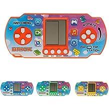 Vivianu 26 Juegos De Mano De Colores Clásicos Retro Infantiles Tetris, Juguetes Electrónicos LCD,