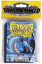 Dragon Shield Sleeves Pack (50 Sleeves, Small, Blue)