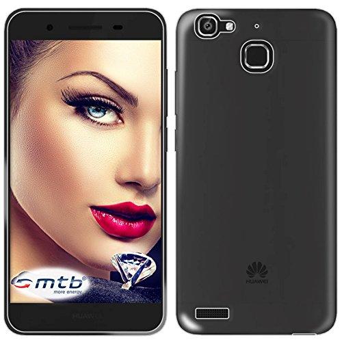 mtb more energy® Schutz-Hülle Clear & Slim für Huawei P8 Lite SMART (2016, 5.2'') | transparent | flexibel | TPU Case Schutz Hülle Tasche