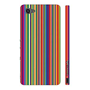 Sony Xperia Z5 Compact Archies Stripes designer mobile hard shell case by Enthopia