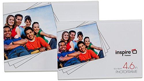 Inspire klobige klare Bilderrahmen aus Acryl, magnetisch, 6 x 4 (Klare Bilderrahmen Magnetische)