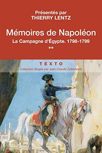mmoires-de-napolon-tome-2-la-campagne-d-egypte-la-campagne-d-39-egypte-1798-1799