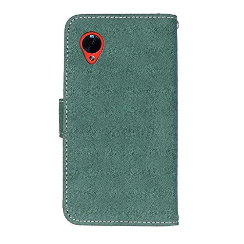 Mattierte Oberfläche solide Farbe horizontalen Flip Stand Case PU-Leder Tasche Cover mit Wallet-Funktion Kartensteckplätze für LG Google Nexus 5 E980 D820 ( Color : 6 ) 4