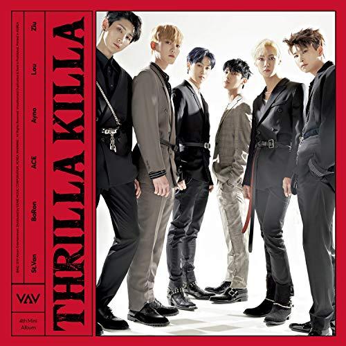 4th Mini Album: Thrilla Killa (inc  88-pg photobook, one postcard +one  random photocard) [Import USA]
