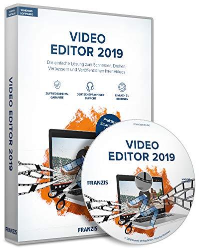 FRANZIS Video Editor 2019|2019|Die einfache Lösung zum Schneiden, Drehen, Verbessern und Veröffentlichen Ihrer Videos|-|Windows PC|Disc|Disc -